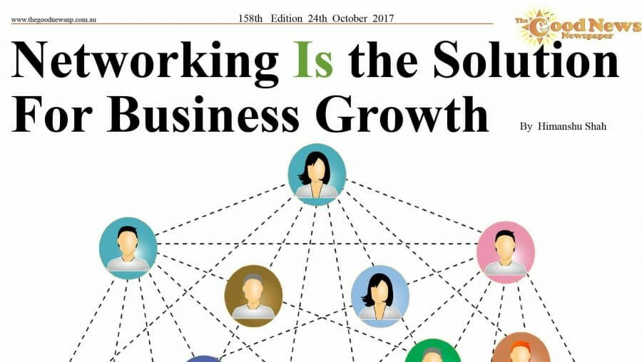 Networking Is the Solution for Business Growth