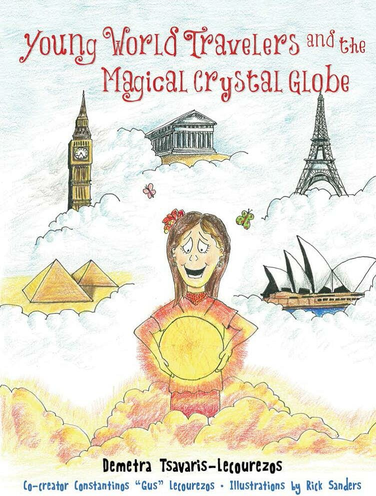 Young World Travelers And The Magical Crystal Globe Image
