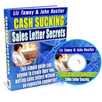 Cash Sucking Sales Letter Secrets Image
