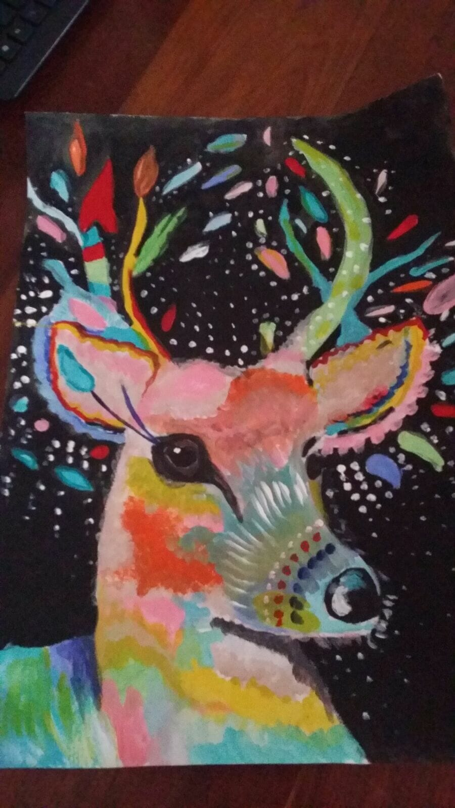 Christmas Reindeer By Emma White Image