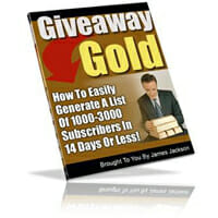 Giveaway Gold Image