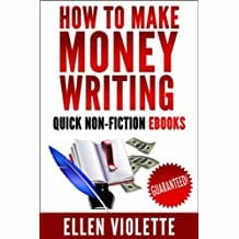 How To Make Money Writing Quick Non Fiction E.Books Image